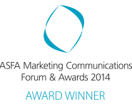 ASFA Marketing Communications Forum & Awards 2014 Award Winner