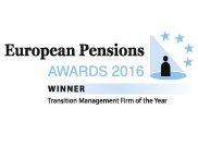 European Pension Awards 2016 - Winner Transition Management Firm of the Year.