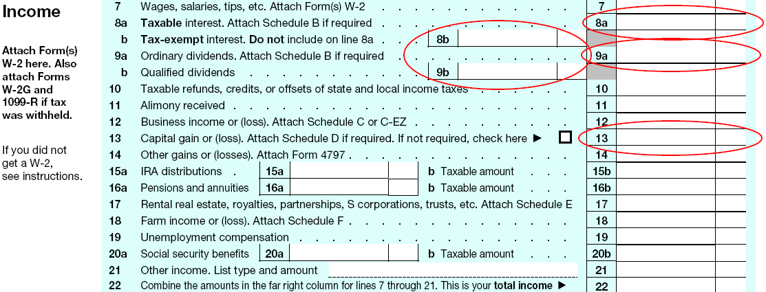 form 1040 qualified dividends  Tying form 14 to potential tax managed opportunities ...