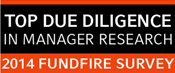 2014 FundFire : Top Due Diligence in Manager Research