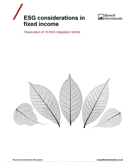 ESG Considerations In Fixed Income Thumb