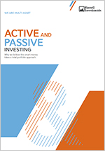 Active and Passive Investing report
