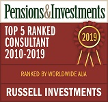 P&I Top 5 Ranked Consultant Award 2019