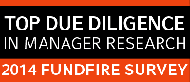 Winner of FundFire Survey for Top Due Diligence in Manager Research