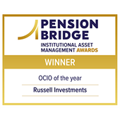 Pension Bridge Institutional Asset Management Award logo