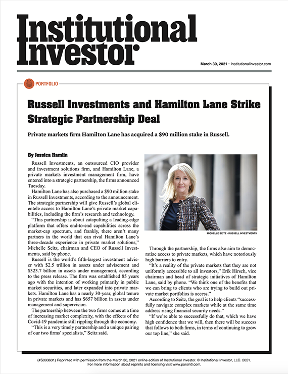 Hamilton Lane Russell PI article