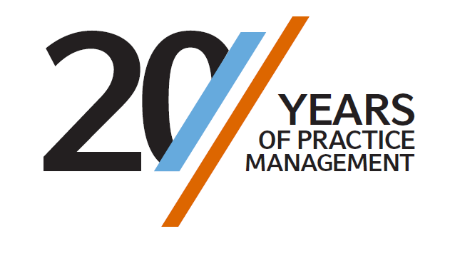20 Years of Practice Management