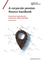 Cover to the Corporate pension finance handbook