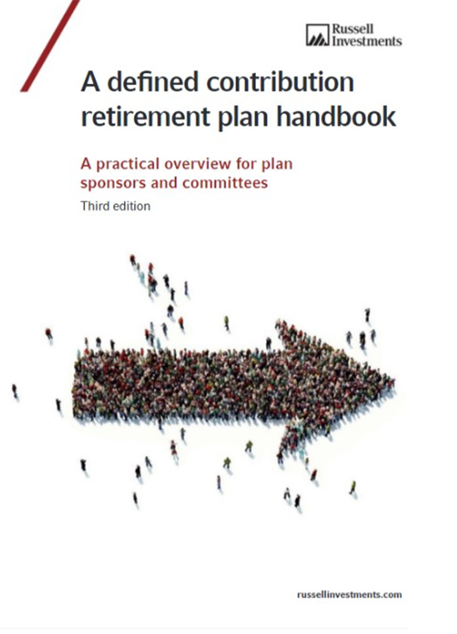 Cover of our defined contribution retirement plan handbook