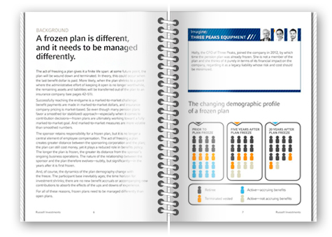 A look inside Russell Investments' Frozen Pension Plan Handbook